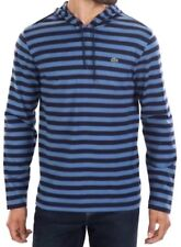 NWT $98 ~ LACOSTE Mens Long Sleeve Stripe Hooded T Shirt  - Size 9 ( 3XL )