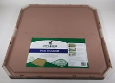 Vet's Best Dog Pad Holder | Portable Tray for Pet Training and Puppy Pads