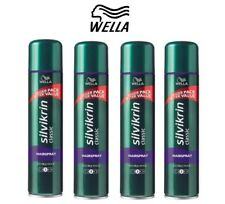 4x Silvikrin Hairspray Flexi , 400ml (Pack of 4)