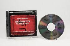 CD: LEOS JANACEK Sinfonietta Taras Bulba Czech Philharmonic Orchestra Ancerl