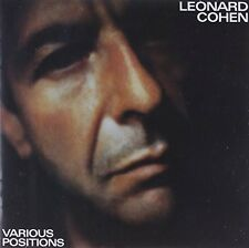 Leonard Cohen - Various Positions [New CD] Holland - Import