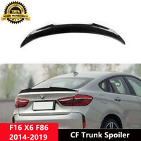 F16 X6 Trunk Spoiler Carbon Fiber Wing for BMW F86 30d 35i 50d 50i PSM Style