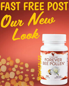 Forever Living Bee Pollen Food Supplement 100 Tablets exp 2025 - Fast Free Post