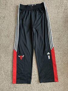 Adidas Chicago Bulls On Court Men's XL Tear-Away Basketball Warm Up Pants NWOT