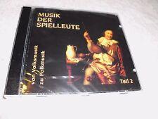 Musica dei menestrelli parte 2 (di musica popolare a Folk Musica) CD-OVP
