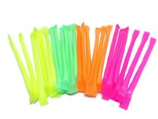 50 x Rainbow Dust Sherbet Straws Retro Sweets Children Party Bag Fillers Popular