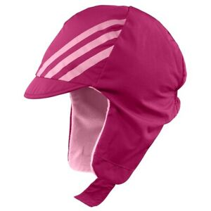 Adidas Baby Winter Hat Chapka Scarf-Hat Warm Fleece Cap Pink Rose (1-2 Years)