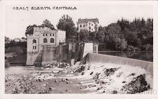 * Croatia - Ozalj - Elektr.Centrala l 1941