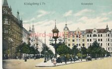 Ak, Königsberg i. Pr. Kaiserplatz, 1917, (K)1764