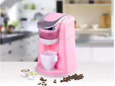 Toy Pretend Play Gourmet Kitchen Appliance Set Keurig Coffee Pot Maker ONLY NEW