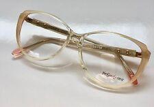 YSL YVES SAINT LAURENT MEMPHIS Eyeglasses Lunette Brille Occhiali Gafas VTG