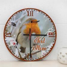 Wooden Bedroom Birds Wall Clocks