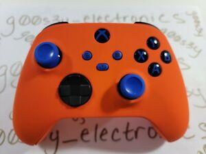 NEW Custom Xbox Series One / X / S Orange Wireless Controller