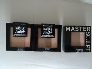 Maybelline Master Sculpt Contouring Palette Light Medium Dark Sealed  REDUCED