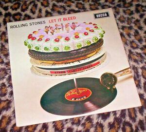 ROLLLING STONES ~ LET IT BLEED. RE UK 1978 vinyl LP. M-/EX.