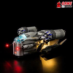 Game of Bricks LED Light Kit ONLY for The Razor Crest 75292 (Standard Version)
