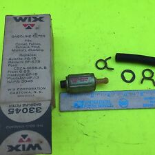 Ford, threaded and hose fitting, Wix fuel filter.    33045.   Item:  7755