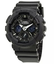 Brand New Casio G-Shock GMAS120MF-1A Analog Digital Black Dial Black Resin Lady