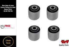NISSAN PATROL GQ GU MAVERICK TRAILING ARM UPPER & LOWER BUSH Complete KIT