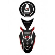Motorcycle Tank Pad Protector Sticker Ducati Street Fighter 1098S Set