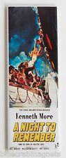A Night to Remember FRIDGE MAGNET (1.5 x 4.5 inches) insert movie poster titanic