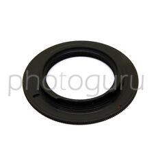 Anello adattatore obiettivi M39 LEICA su fotocamera reflex PENTAX  K PK