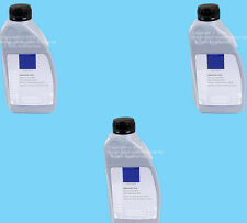 Set of 3 GENUINE Convertible Top Hydraulic System Fluid 3 Liters fits Mercedes