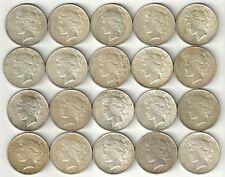 1 Roll___Peace Silver Dollars___XF-AU___#1611KE27