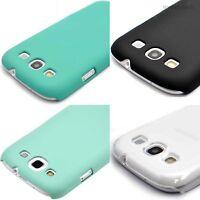 For Samsung Galaxy S III S3 1-Piece Matte Rubberized Ultra Thin Hard Case