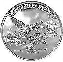 Alaska Mint Silver Duck Birds Medallion Proof 1Oz