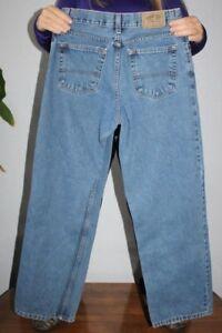 Levis  Loose fit  Blue  Denim  Jeans  Youth    29 x 30   adj  waist