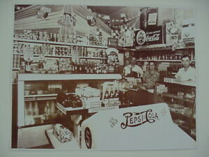 1940s Pepsi Pete, Pepsi Cola Cooler,  Grocery 8.5 by 11 Reprint Photograph