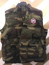 Canada Goose Men's XXL Camouflage Vest + Beanie Pom