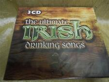 The ultimate Irish drinking songs with 3 cd's, New, Sealed