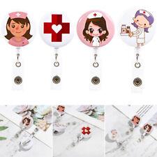 Clip Office Supplies Badge Holder Nurse ID Name Card Key Ring Lanyards-