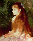 Portrait Of Irene Cahen Pierre Auguste Renoir Fine Art Print on CANVAS Repro SM