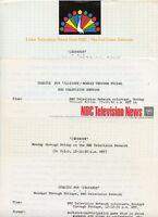 ART FLEMING JEOPARDY! GAME SHOW RARE ORIGINAL 1966 NBC TV PRESS MATERIAL