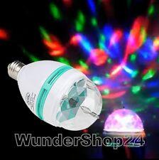 E27 Mini DJ PA Disco Show Autorotation Bühne LED RGB Party Lampe Video ansehen!