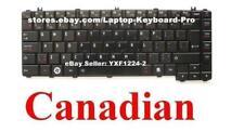 Toshiba Satellite Pro C605 C640 C645 C645D Keyboard Clavier - Canadian