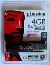 Kingston 4GB Data Traveler 4000 G2 THUMB DRIVE/NEW