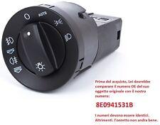 INTERRUTTORE DEVIOLUCI COMANDO LUCE + AUTO PER AUDI A4 B6 A4 B7 00-07 8E0941531B