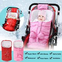 Universal Baby Footmuff Liner Pushchair Stroller Pram Cosy New Bor ℘