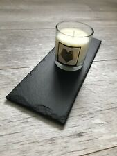 Handmade Slate Trivet Candle Placemat Candle Display Board 11x30cm
