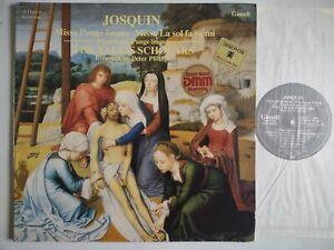 TALLIS SCHOLARS SINGS JOSQUIN MISSA  PANGE LINGUA GIMELL 1585