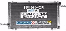 SUBARU IMPREZA WRX 1994-2000 MANUAL KOYO R-SERIES K-SPORT RACING RADIATOR