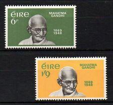 Ireland 1969 Gandhi Mnh set S.G. 272-273