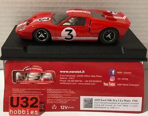 NSR 1055 Ford Mk II #3 le Mans 1966