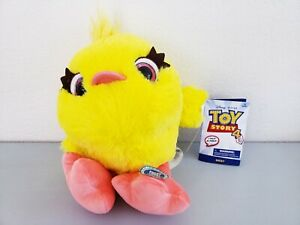"Disney Store Toy Story 4 Pixar Ducky 10"" Talking Plush NWT Free Shipping!"