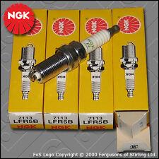 NGK Candela Set Per Peugeot 206 2.0 16V GTI dew10j4 EW10J4 (1999-2005)