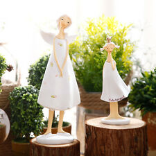 Lovely Angel Mom & Daughter Figurines Fariy Girl Angel Figurine Home Decor Gift
